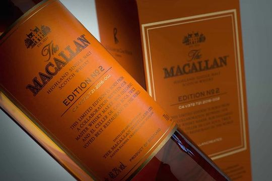 The Macallan Edition No. 2 Single Malt Scotch Whisky 750ml Bottle