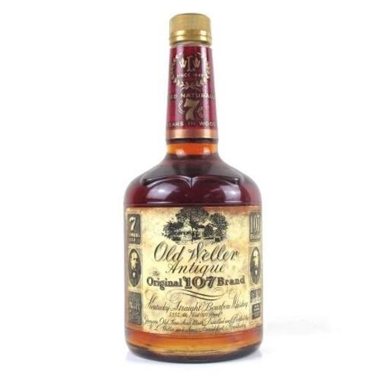 W. L. Weller Old Weller Antique Reserve 107 7 Year Old Straight Bourbon Whiskey 750ml Bottle