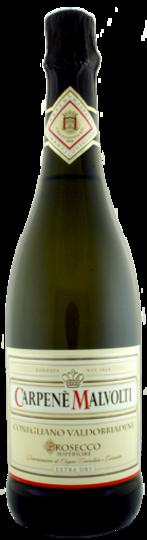 Carpene Malvolti Prosecco di Conegliano Valdobbiadene DOCG Extra Dry 750ml Bottle