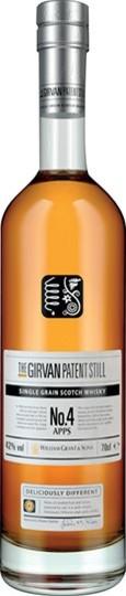 The Girvan Patent Still No. 4 Apps Single Grain Scotch Whisky 750ml Bottle