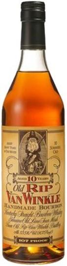 Old Rip Van Winkle Handmade 107 Proof 10 Year Old Bourbon 750ml Bottle
