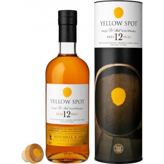 Yellow Spot 12 Year Old Single Pot Still Irish Whiskey 750ml Bottle