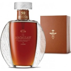 The Macallan Lalique 50 Year Old Single Malt Scotch Whisky