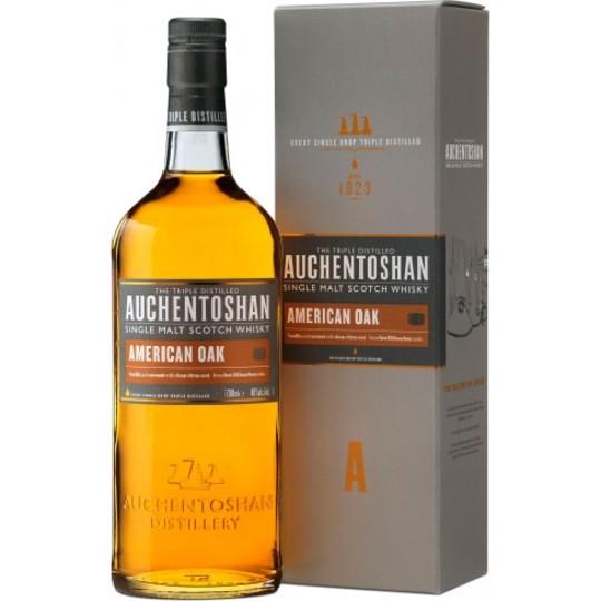 Auchentoshan American Oak Single Malt Scotch Whisky 750ml Bottle