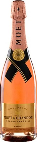 Moet & Chandon Nectar Imperial Rose Champagne 750ml Bottle