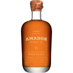Amador Ten Barrels Straight Hop-Flavoured Small Batch Whiskey