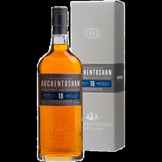 Auchentoshan 18 Year Old Single Malt Scotch Whisky 750ml Bottle