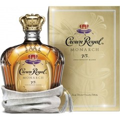 Crown Royal Monarch 75th Anniversary Blend Finely Blended Canadian Whisky