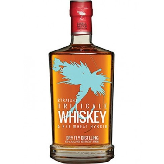 Dry Fly Straight Triticale Whiskey 750ml Bottle