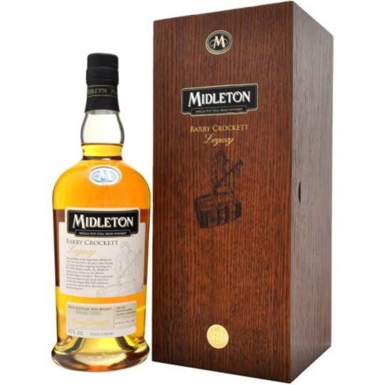 Midleton Barry Crockett Legacy Single Pot Still Irish Whiskey 750ml Bottle