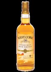 West Cork 10 Year Old Single Malt Irish Whiskey