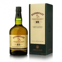 Redbreast 15 Year Old Pure Pot Still Single Malt Irish Whiskey