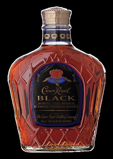 Crown Royal Black Canadian Whisky 375ml Bottle