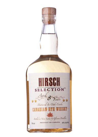 Hirsch Selection 8 Year Old Canadian Rye Whiskey