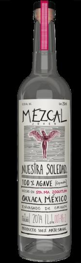 El Jolgorio Nuestra Soledad Santa Maria Zoquitlan Mezcal Joven 750ml Bottle