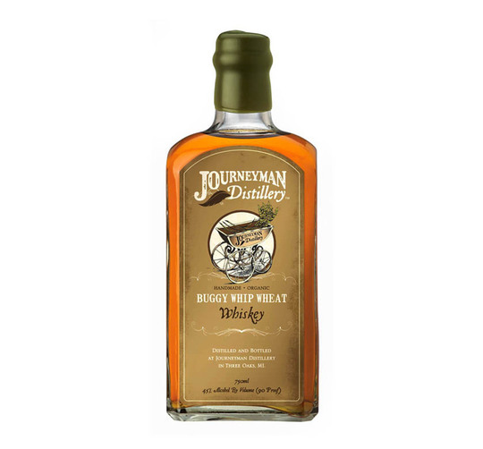 Journeyman Distillery Buggy Whip Wheat Organic Whiskey 750ml Bottle