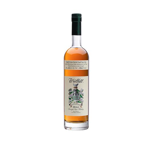 Willett 2 Year Old Family Estate Small Batch Rye Whiskey 750ml Bottle