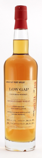 Low Gap 2 Year Old Bavarian Hard Wheat Whiskey 750ml Bottle