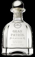 Patron Gran Patron Platinum Silver Tequila