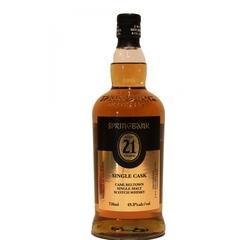 Springbank Single Cask Cask Strength 21 Year Old Single Malt Scotch Whisky