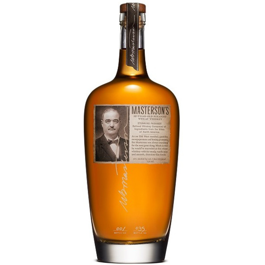 Masterson's 12 Year Old Straight Wheat Whiskey 750ml Bottle