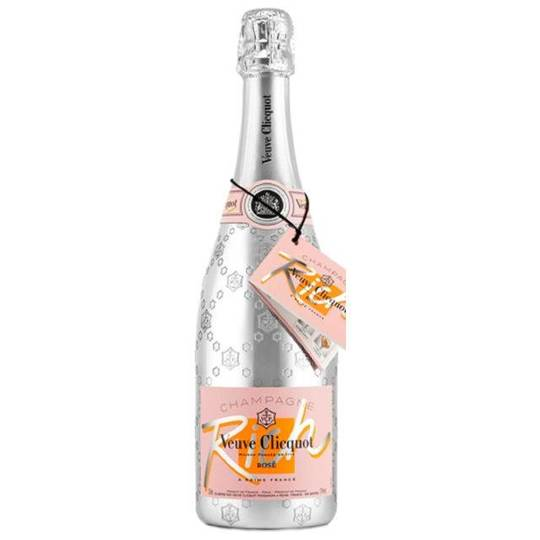 Veuve Clicquot Ponsardin Rich Rose Champagne 750ml Bottle
