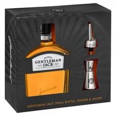 Jack Daniel's Gentleman Jack Tennessee Whiskey Pourer & Jigger Gift Pack