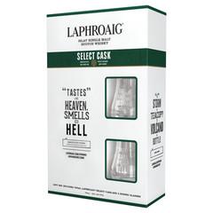 Laphroaig Select Cask Single Malt Scotch Whisky Nosing Glass Gift Pack