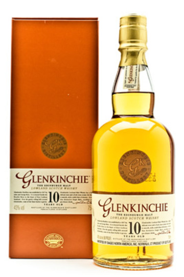 Glenkinchie 10 Year Old Single Malt Scotch Whisky 750ml Bottle