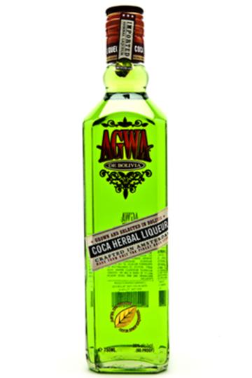 Agwa de Bolivia Coca Leaf Liqueur 750ml Bottle