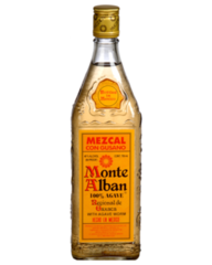 Monte Alban Mezcal con Gusano with Agave Worm