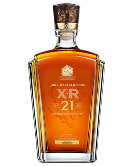 Johnnie Walker XR 21 Year Old Blended Scotch Whisky 750ml Bottle