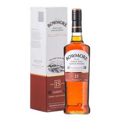 Bowmore Darkest Sherry Cask Finished 15 Year Old Single Malt Scotch Whisky