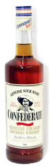 Confederate Genuine Sour Mash Kentucky Straight Bourbon Whiskey