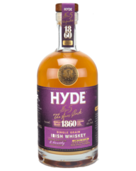 Hyde No. 5 Burgundy Cask Finish Single Grain Irish Whiskey