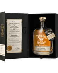 The Teeling Whiskey Co. he Revival Rum Barrel Matured 15 Year Old Single Malt Irish Whiskey