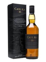 Caol Ila 25 Year Old Single Malt Scotch Whisky