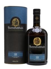 Bunnahabhain 18 Year Old Single Malt Scotch Whisky