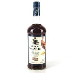Wild Turkey Oloroso Sherry Signature 10 Year Old Bourbon