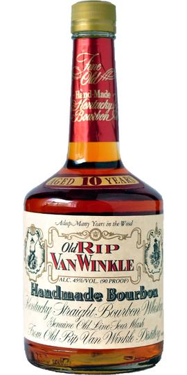 Old Rip Van Winkle Handmade 90 Proof 10 Year Old Bourbon 750ml Bottle