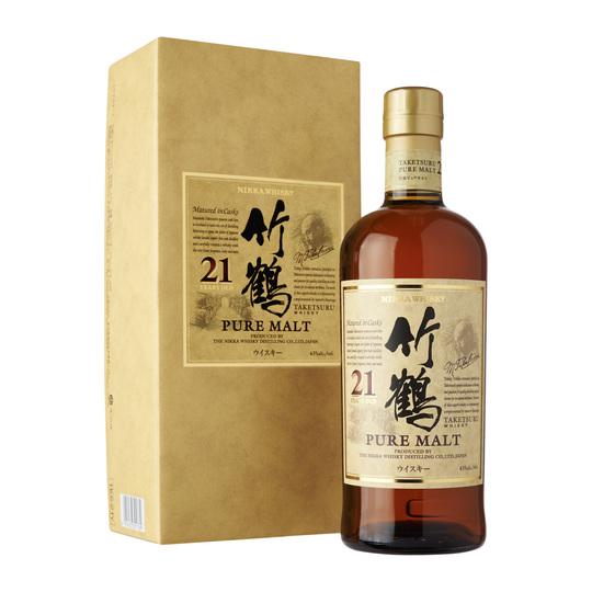 Nikka Taketsuru Pure Malt 21 Year Old Blended Malt Whisky 700ml Bottle
