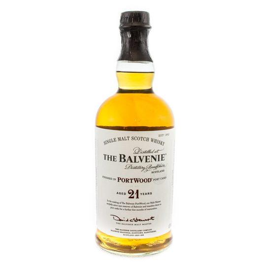 The Balvenie PortWood 21 Year Old Single Malt Scotch Whisky 750ml Bottle