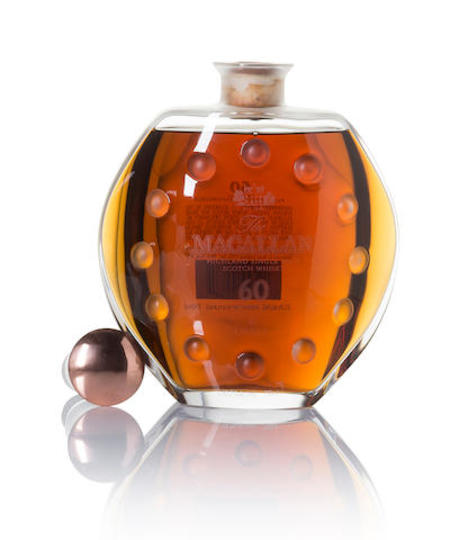 The Macallan Lalique 60 Year Old Single Malt Scotch Whisky 750ml Decanter
