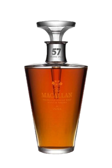 The Macallan Lalique 57 Year Old Single Malt Scotch Whisky 750ml Bottle
