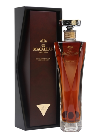 The Macallan 1824 Series Oscuro Single Malt Scotch Whisky 700ml Bottle
