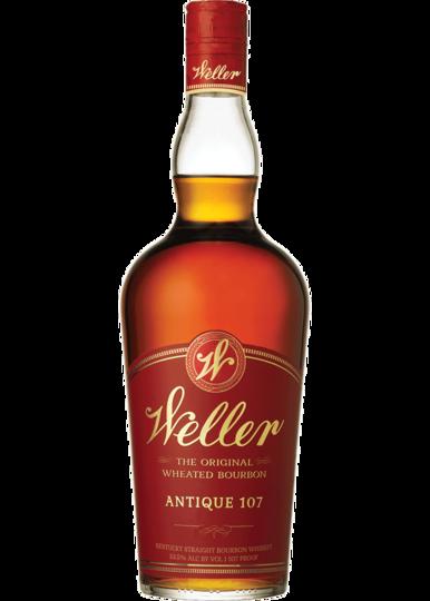 W. L. Weller Old Weller Antique 107 Bourbon Whiskey 750ml Bottle
