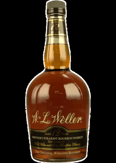 W. L. Weller 12 Year Old (Older Style Bottling   Distilled by Buffalo Trace) Kentucky Straight Bourbon Whiskey 750ml Bottle