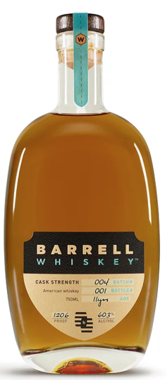 Barrell Cask Strength American Whiskey 750ml Bottle