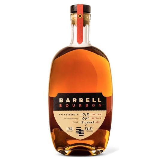 Barrell Batch 013 Cask Strength 5 Year Old Straight Bourbon Whiskey 750ml Bottle