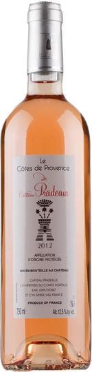 Chateau Pradeaux Le Cotes de Provence Rose 750ml Bottle